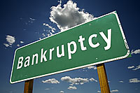 Bankruptcy due to oil tanks